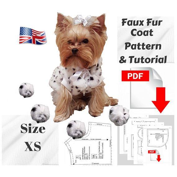 Dog Clothes Patterns Dog Clothes Small Dog Winter Coat Dog