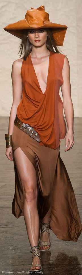 Donna Karan, Spring 2014 Clothing Line | Photo Featured on fashionologie.com