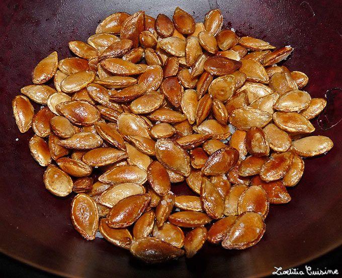 Ne jetez pas vos graines de courge ! Déjà parce que d'un point de vu nutritionnel elles sont pleines de bonnes choses (vitamines C et A, magnésium, potassium, zinc et fibres) : Et ensuite (et c'est...