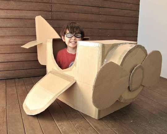 Cardboard Box Ideas!