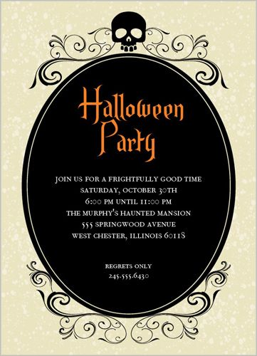 131 best invite ideas images on pinterest invitation ideas scary skeleton halloween invitation could be used for wedding invite stopboris Images