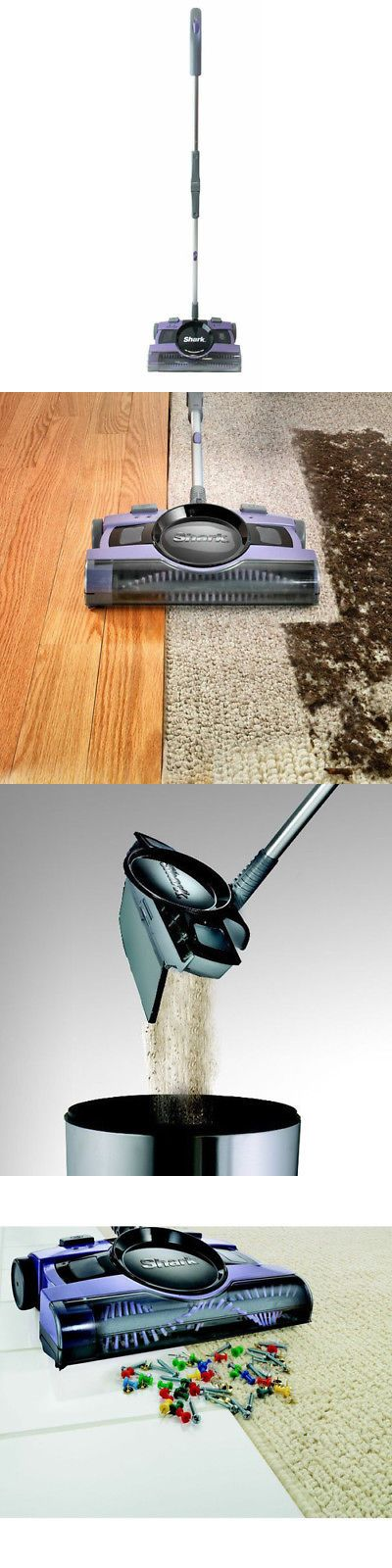 Vacuum Cleaners 20614: Shark 13 In. Rechargeable Floor And Carpet Sweeper V2950 New -> BUY IT NOW ONLY: $69.99 on eBay!