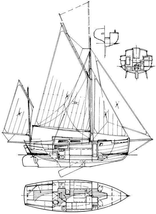 Martlet 30 gaff cutter boats pinterest for 68 garden design gaff rigged schooner