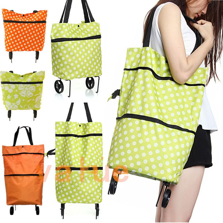 Foldaway Tote - Polka Dancing Earth by VIDA VIDA