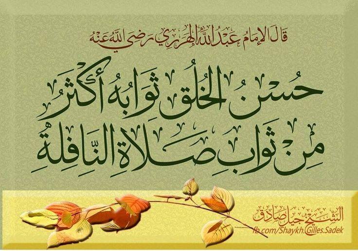 قال الإمام العبدري رضي الله عنه: من أعظم ما يكتسبهُ الإنسانُ في الحياة أن يحبَّ المسلم المحبة التي فيها تعاون على ما يرضي الله.