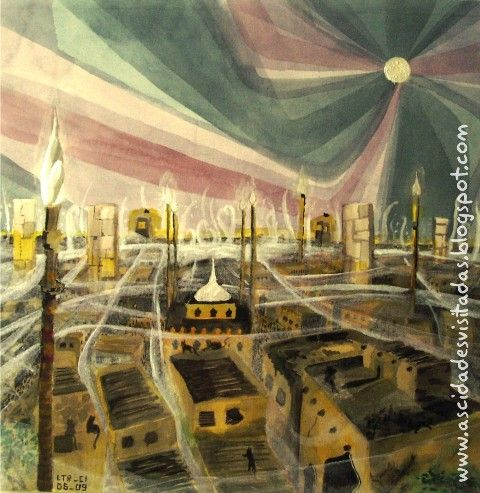 ITALO CALVINO'S INVISIBLE CITY DIOMIRA by Sanchari De, others