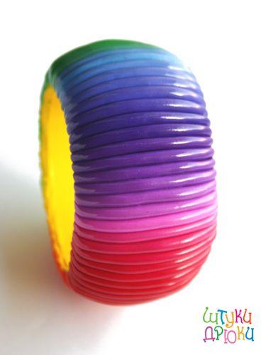 polymer clay bracelet tutorial
