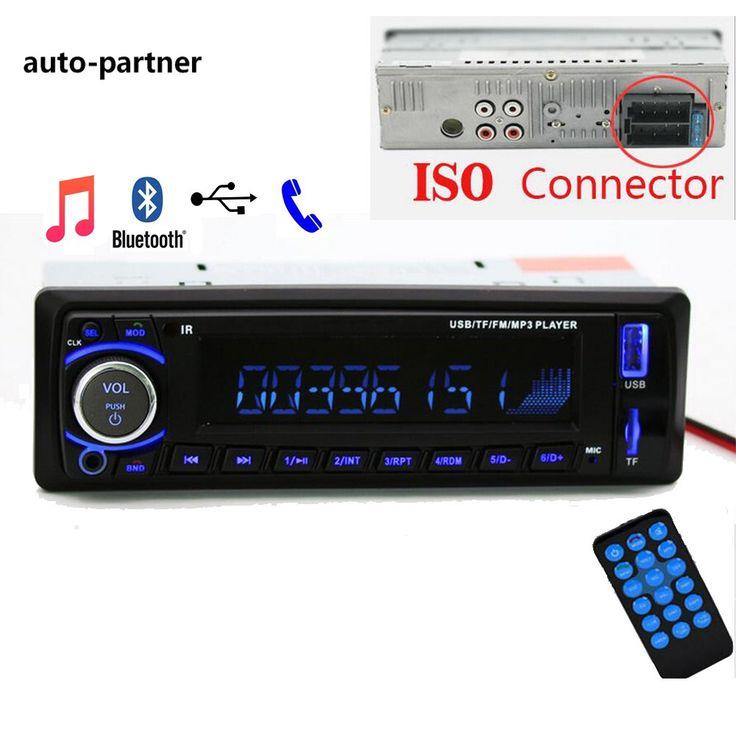 Discount! US $21.23  Auto radio Car Radio 12V Bluetooth V2.0 SD USB MP3 WMA Car Audio Stereo In-dash 1 Din FM Aux Input Receiver