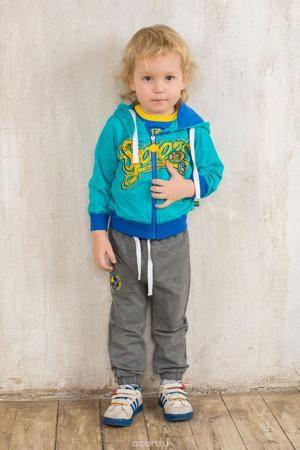 """Sweet Berry Спортивный костюм  — 1434р. ------------------------ Спортивный костюм для мальчика Sweet Berry Baby, состоящий из толстовки и брюк, идеально подойдет вашему маленькому моднику и станет отличным дополнением к его гардеробу. Изготовленный из эластичного хлопка, он необычайно мягкий и приятный на ощупь, не сковывает движения и позволяет коже """"дышать"""", обеспечивая наибольший комфорт. Толстовка с капюшоном и длинными рукавами застегивается на пластиковую молнию. Капюшон с трикотажной…"""