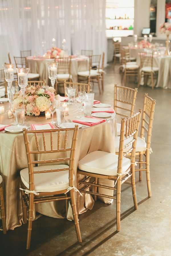 Pink Mint And Gold Wedding With Lots Of Sparkle Chic Wedding And Pink