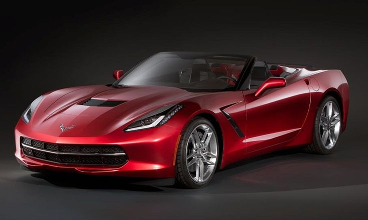 This is What the 2014 Corvette Stingray Convertible Could Look Like - Carscoops