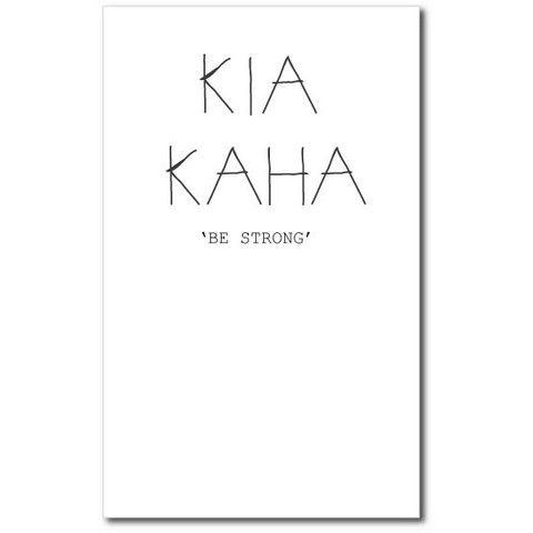 Card - Kia Kaha