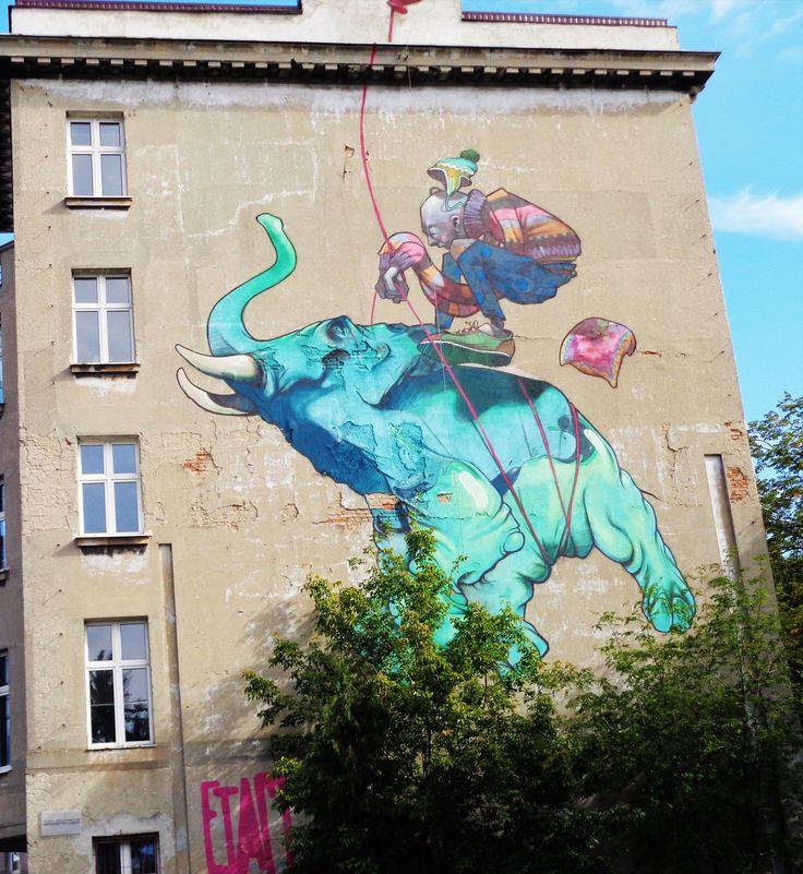Mural ul.Uniwersytecka