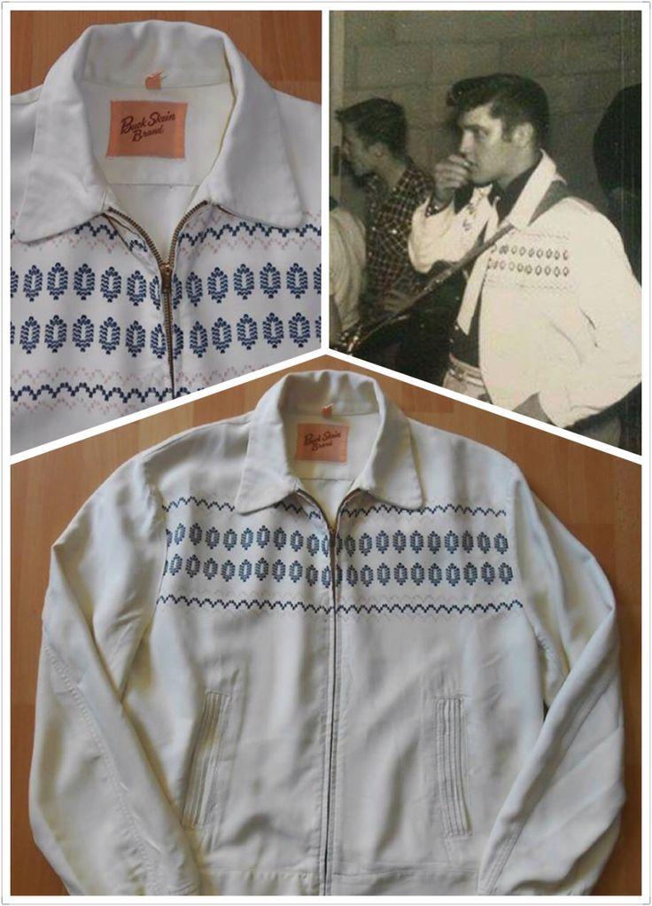 50s gabardine jacket (like the King)