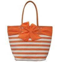 Le Forge Resort Bow Bag Orange