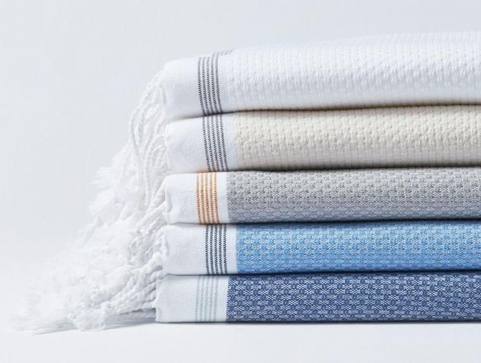 Coyuchi Mediterranean Bath Towels, 5 colors