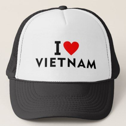 #country - #I love Vietnam country like heart travel tourism Trucker Hat
