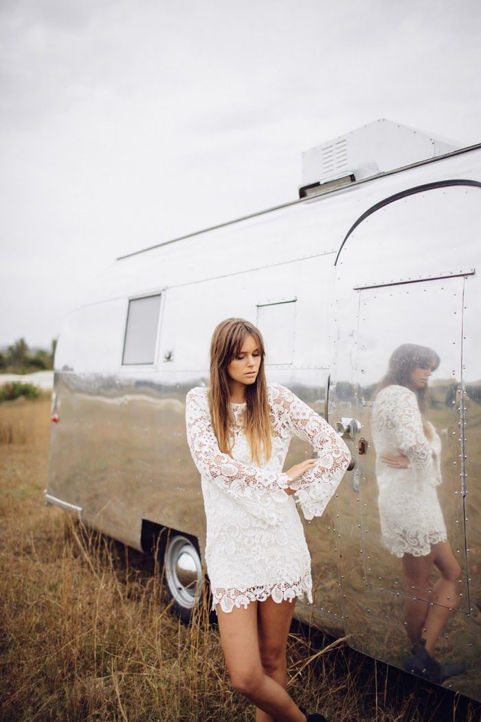 Amilita the label: Like A Rolling Stone AW14, Evie dress, white, lace, bohemian