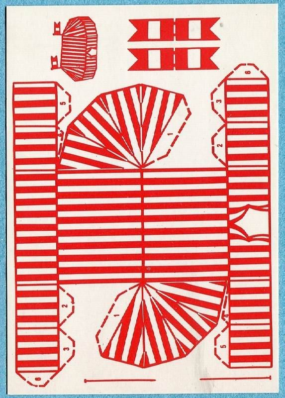 Circus Cut Out Novelty Card