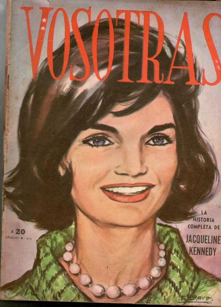 Revista Vosotras Nº1467.la Historia De Jacqueline Kennedy
