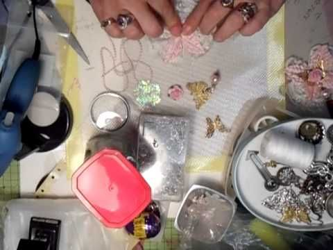 Shabby Chic Butterfly Tutorial 1