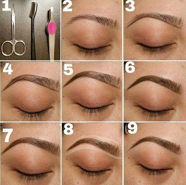 Brow Shaping Tutorials - Tips for The Perfect Eyebrow ...