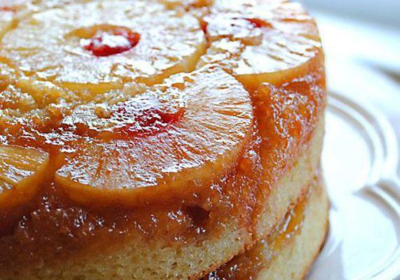 Double layered Pineapple Upside-down Cake Recipe
