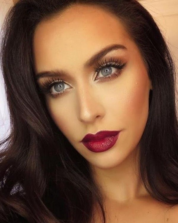 Eye Make up For Big Eyes.. http://www.caring.in.net/eye-make-up-for-big-eyes.html ..Smokey eye makeup look for big eyes and round face makeup ideas, When you have big eyes, you don't really have to worry about dark shades ... #Eyeshadow #EyeMakeup #SmokeyEye