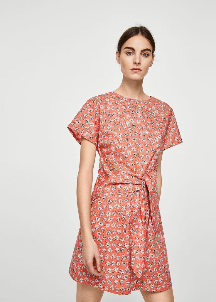 Baumwollkleid mit schleifendetail - Damen | Sommerkleider ...