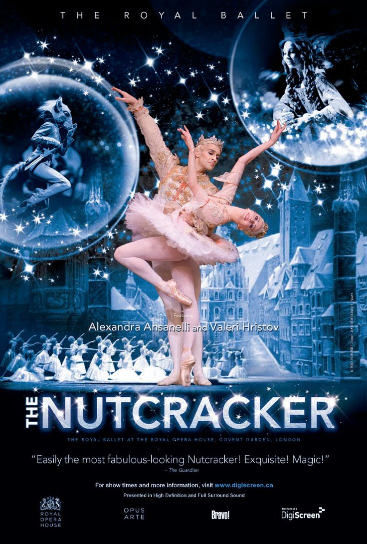 Poster design class 12 - For Many People The Nutcracker Is Their First Ballet Attending Experience This Poster
