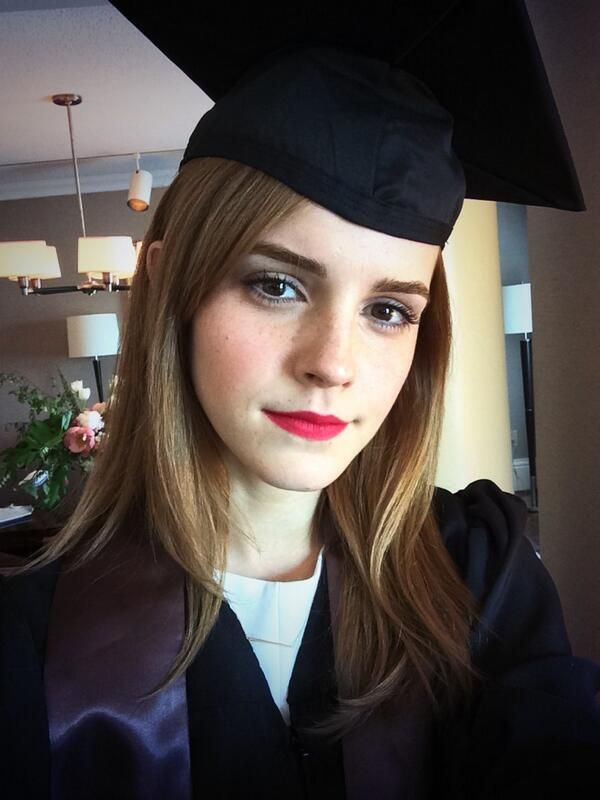 Emma Watson Graduates From Brown University, Continues To Be Flawless