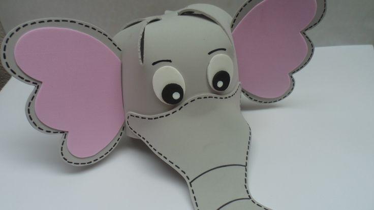 antifaz elefante foami - Buscar con Google