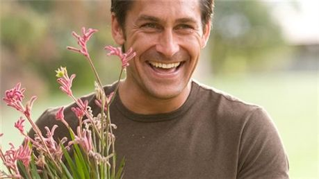 "Australian-born Jamie Durie is a horticulturalist and international award-winning landscape designer, founder and director of Durie Design and the host/producer of the HGTV show ""The Outdoor Room"". View clips from his show by clicking the photo."