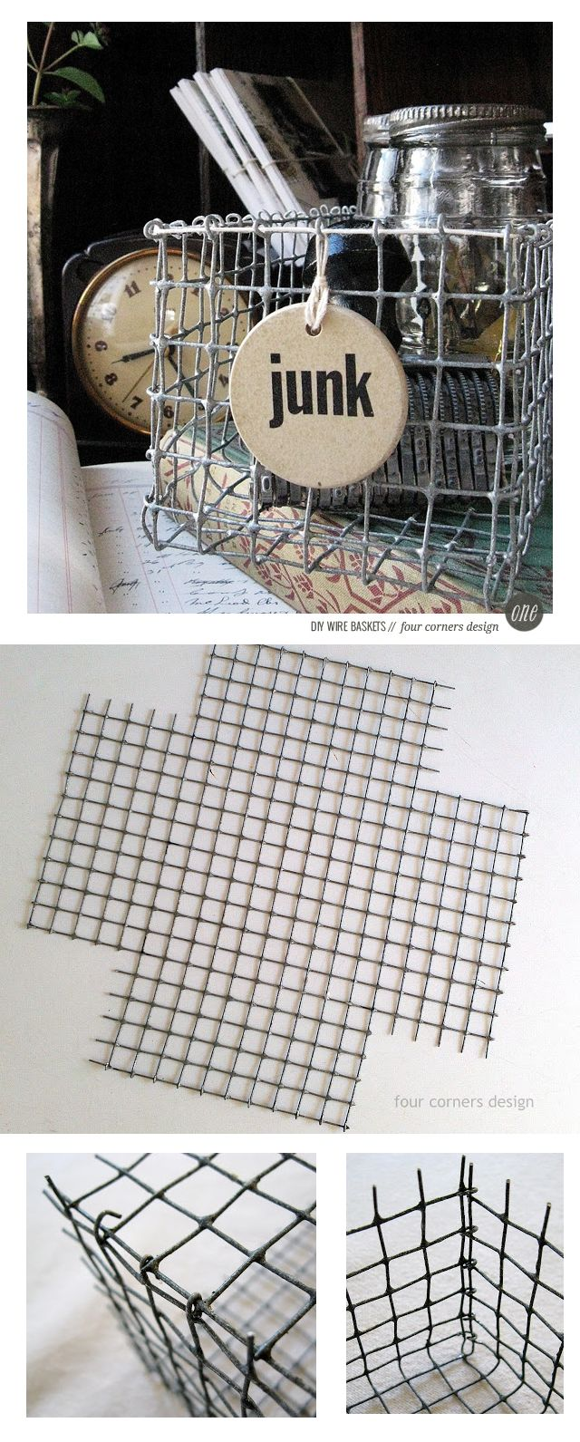 ☆ DIY wire basket tutorial