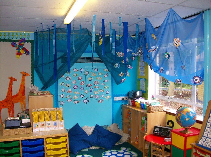 Classroom Decor Under The Sea ~ Under the sea reading corner classroom display photo