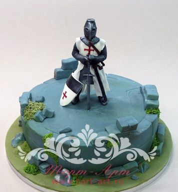 """Детские торты — Торт """"Средневековый рыцарь"""""""