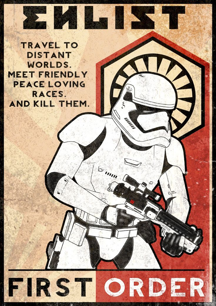 First Order propaganda by Pelecymus.deviantart.com on @DeviantArt