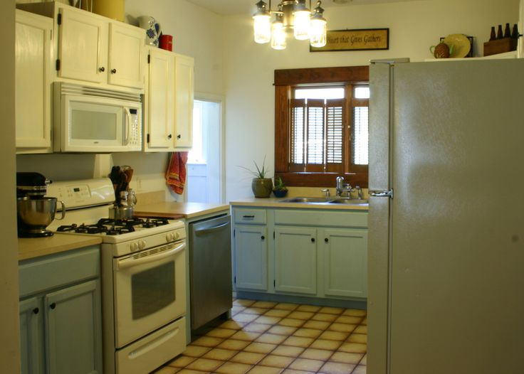Kitchen Cabinets With DIY Chalk Paint Paint Refinishing Pinterest