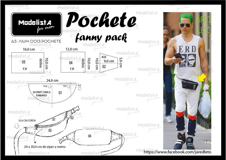ModelistA: A3 NUMo 0013 FANNY PACK