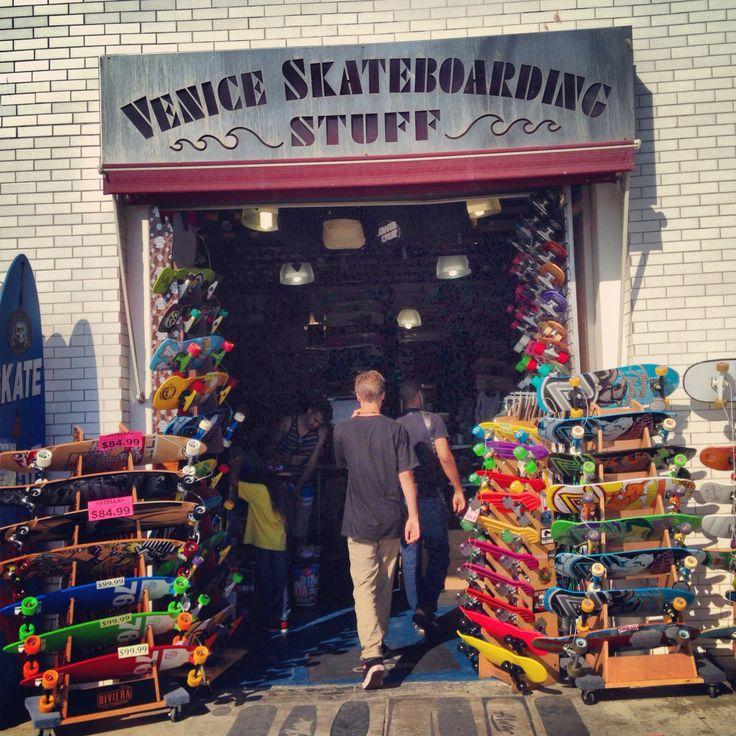 Skate shop in Venice