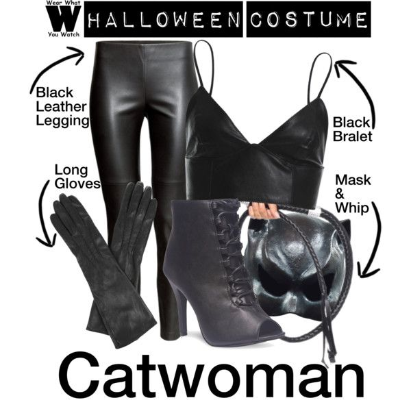 A Halloween Costume how-to inspired by Halle Berry as the title character in 2004's Catwoman.