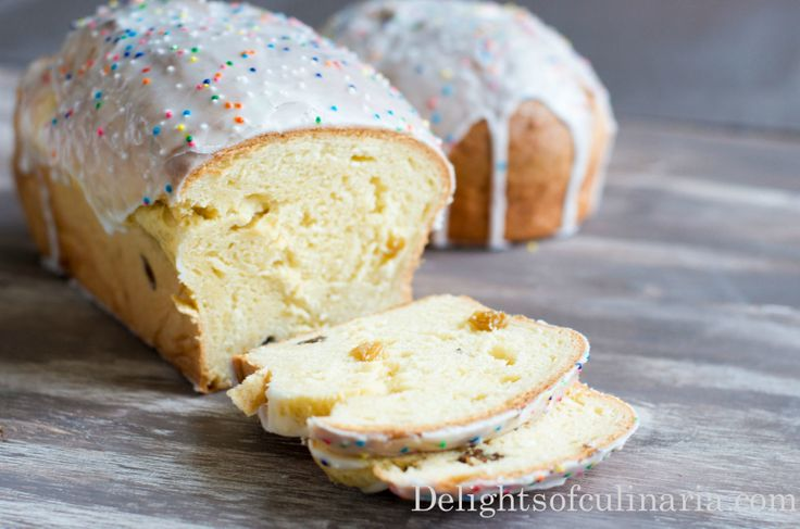 Russian Easter bread (Paska/Kulich)Easter Breads Paska Kulich, Easter ...