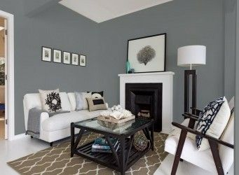 Johnstone S Manhattan Grey Paint Colors For Living Room