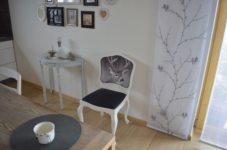 krzesło by annie sloan, pure white