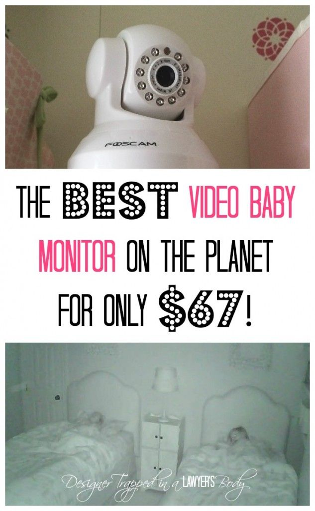The BEST Video Baby Monitor Ever {and it's cheap}! - Designer Trapped in a Lawyer's Body