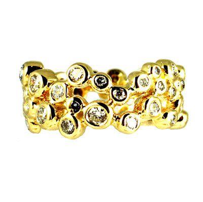 Bubble Diamond Eternity Ring