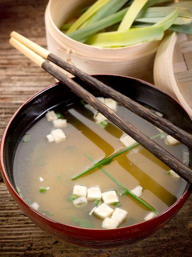 Soupe Miso (Japon) - Recette de cuisine Marmiton : une recette