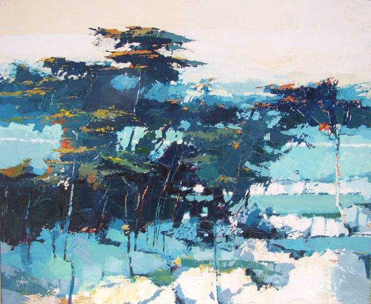 "Saatchi Art Artist: Alex Bertaina; Oil 2008 Painting ""Pinede"""