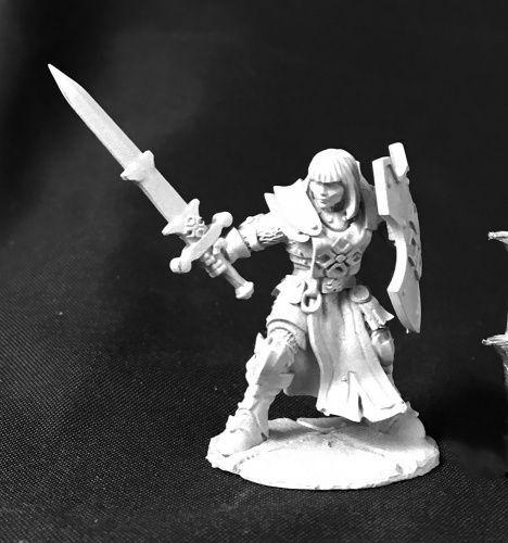 Dark Heaven Legends Ava Justinia, Female Templar Unpainted Miniature  RPR03746   Toys & Hobbies, Games, Miniatures, War Games   eBay!