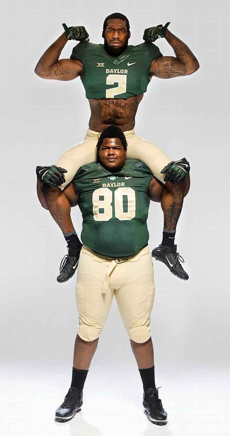 Eight ginormous facts about Baylor's LaQuan McGowan and Shawn Oakman